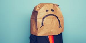 Worker Discontent Employee Brown Bag Orange Tie Emoji Enough