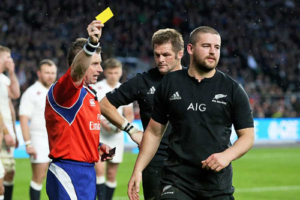 Rugby Yellow Card Enough All Blacks