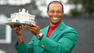Tiger Woods, green jacket, Masters