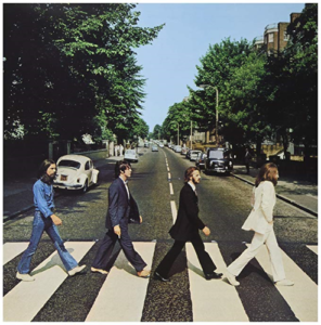 Beatles, Zebra Crossing, Walking, Album