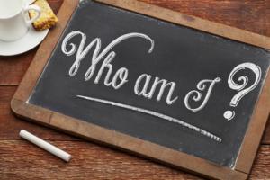 blackboard,wood, unemployed, jobless, who am I,