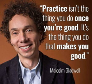 Malcolm Gladwell, Practice, Luck, Lucky