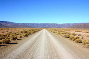Open Road, gravel road, mountain, Silence